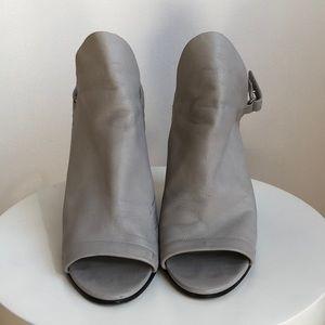 Vince Grey Wedge Heels